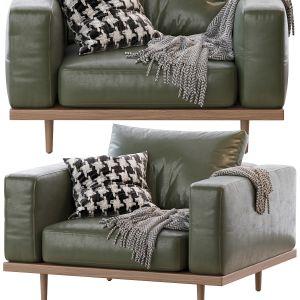 Newport Armchair Leather