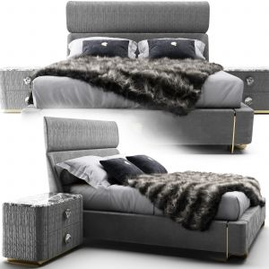 Giorgiocollection Fully Upholstered Bed