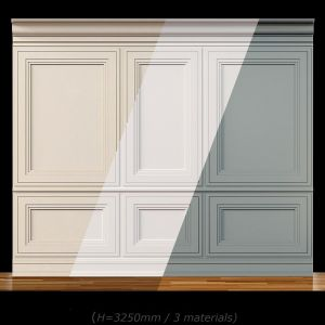Wall Molding 13. Boiserie Classic Panels
