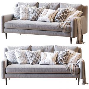 Crosby Mid-century Sofa