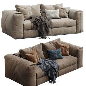 Flexform Sofa Asolo (2 Color Version)