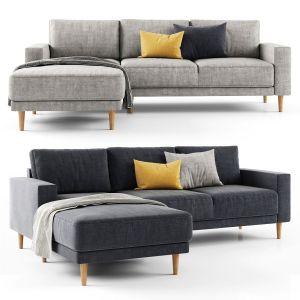 Jysk Egense Chaise Longue Sofa