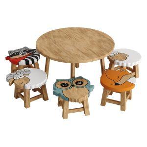 Kids Furniture01-animal Chairs