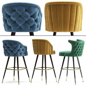 Deer Spring Bar Stool