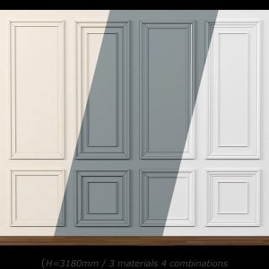Wall Molding 15. Boiserie Classic Panels
