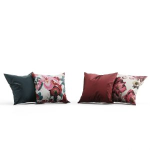 H&m Home Flowers Pillow Set