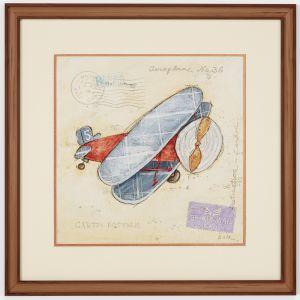 Art Frams 101- Vintage Aircraft