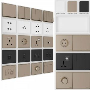 Electrical Sockets And Switches Simon E6