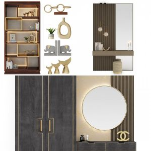 Bedroom Furniture Hallway Decorative Composition