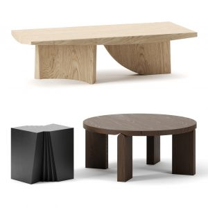 Coffee Tables Set By Christophe Delcourt