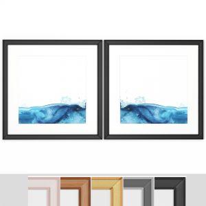 Art Frams 103- Teal Marble 2
