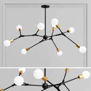 Spiral Structure Ceiling Lights