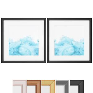 Art Frams 104- Teal Marble 1