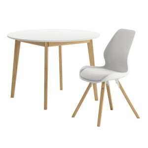 Jysk Blokhus Table With Bogense Chair