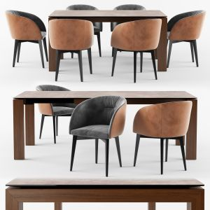 Calligaris Sigma Dining Table_rosie Soft