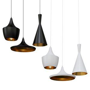 Pendant Lamp Bulbs Ceiling Black-white