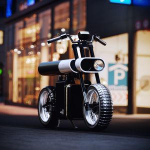 Punch Electric Motorcycle