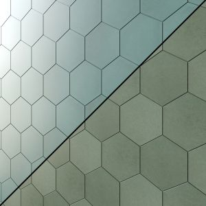 Makoto Hexagon Matte Porcelain Tile 8 Types