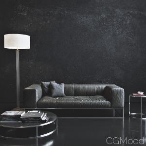 Living Divani - Ile club sofa