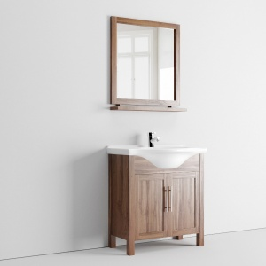 Tavistock Lava Walnut 700 Freestanding Vanity Unit