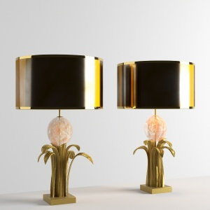 Feuille deau oeuf Table Lamp by Chrystiane Charles