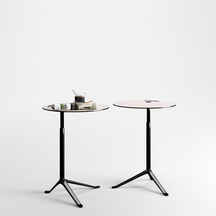 Little Friend Table By Fritz Hansen 3d model