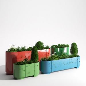 Pop planter
