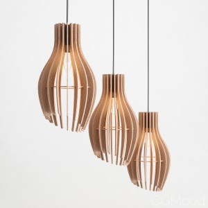 Stripes pendant light