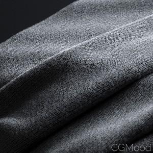 Fabrics with microfibers (GeoPattern-VrayPattern)