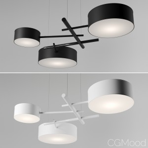 Excel Chandelier by Roll&Hill