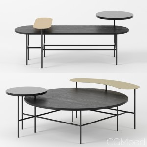 Palette Tables By &tradition Set 2