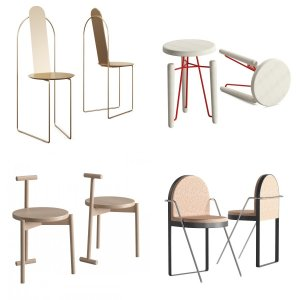 9 Models Chair Collection01