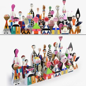 Vitra Wooden Dolls Full Set