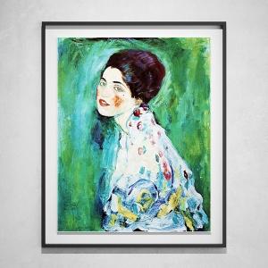 Gustav Klimt - Lady's Portrait