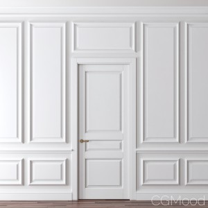 Classic Door And Wall Moulding 1