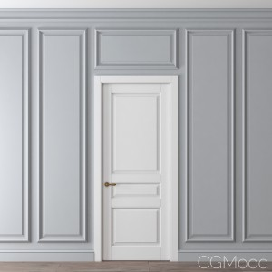 Classic Door And Wall Moulding 2