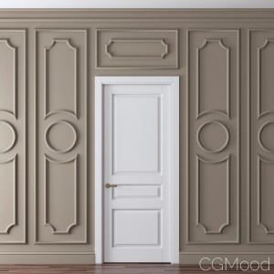 Classic Door And Wall Moulding 10