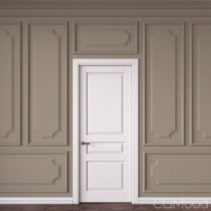 Classic Door And Wall Moulding 18