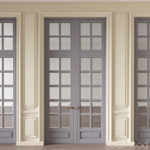 Classic Door And Wall Moulding 29