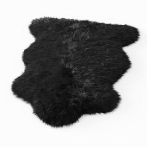 Forsyth New Zealand Sheepskin Fur Black