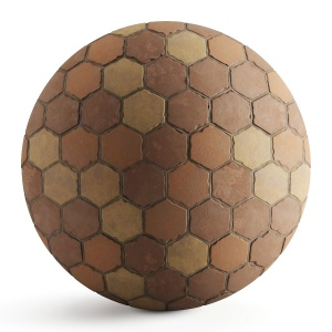 Old_Hexagon_Terracotta_Tiles