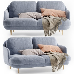 Fritz Hansen Lune Sofa 2 Seater