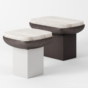 Olympia Side Tables By Kookudesign