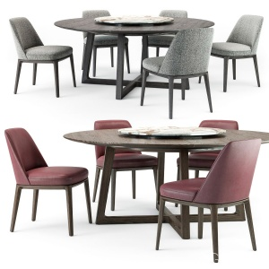 Sophie Chair Concorde Round Table Set