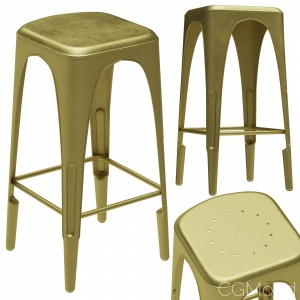 Restoration Hardware Remy Backless Stool