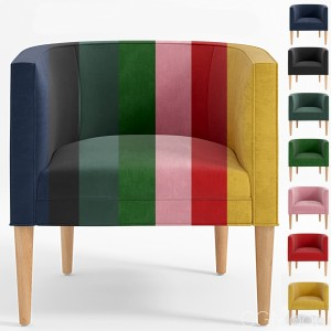 Lounge Chair Colors Set