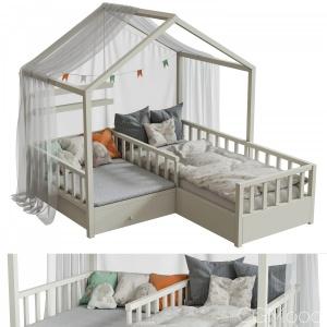 Children's Bed Set 7