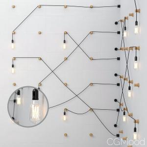 Loft_lamp_on_the_wall