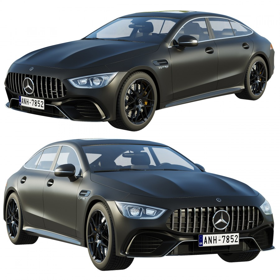 Mercedes-benz Amg Gt 63 4-door Coupe