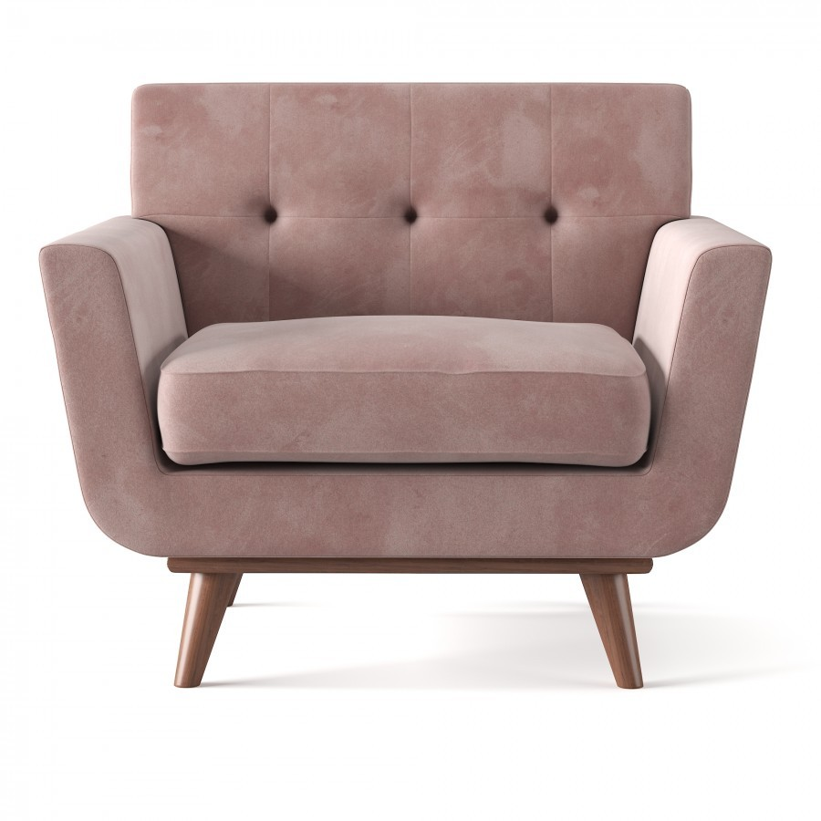 Johnston Club Chair 3d Model For Vray